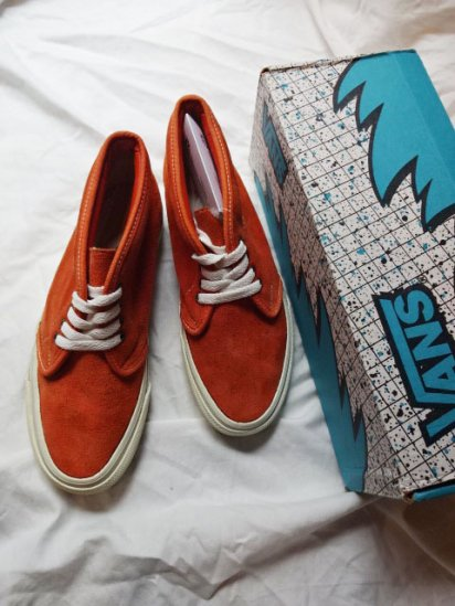 80's Vintage Mint Condition VANS Chukka Made in USA