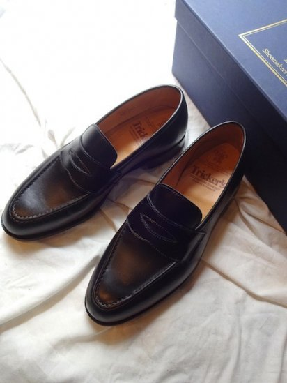 Tricker's Leather Loafer HARVARD MADE IN ENGLAND