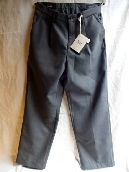 RICCARDO METHA Marzotto Fabric Wool 1Tac Trousers Made in Italy Gary