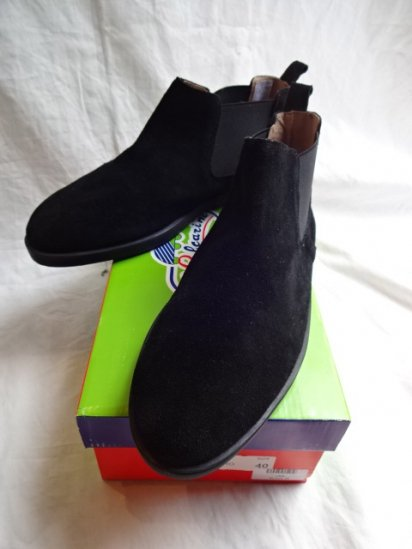 Vulcarini Side Gore Boots Made in Spain Black