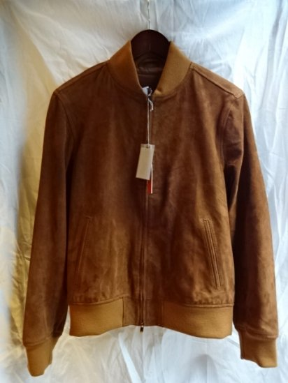 GELLI GOAT SKIN SUEDE BLOUSON MADE IN ITALY