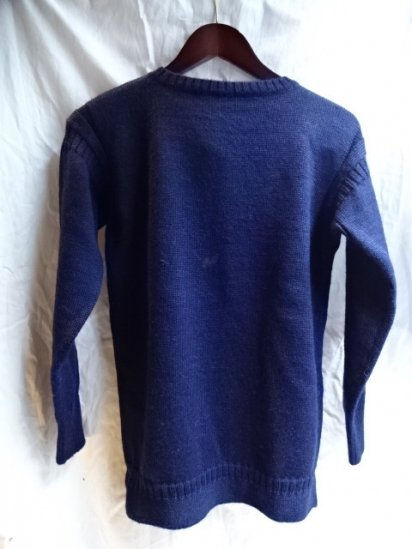 90's〜 Vintage Guernsey Sweater /A
