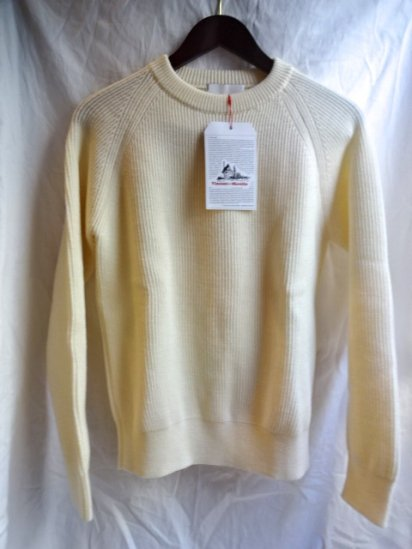 Vincent et Milleire Crew Neck Sweater 8GG AZE Natural