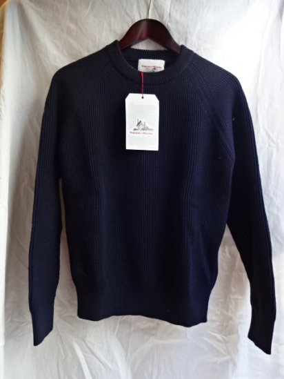 Vincent et Milleire Crew Neck Sweater 8GG AZE Navy