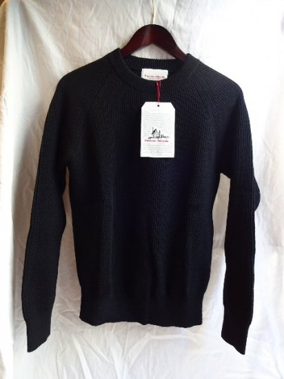 Vincent et Milleire Crew Neck Sweater 8GG AZE Black