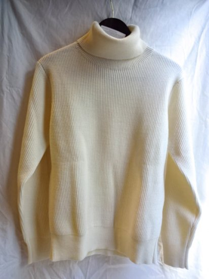 Vincent et Milleire Turtle Neck Sweater 8GG AZE Natural