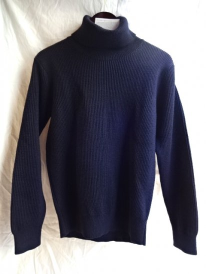 Vincent et Milleire Turtle Neck Sweater 8GG AZE Navy