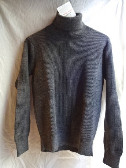Vincent et Milleire Turtle Neck Sweater 8GG AZE Gray