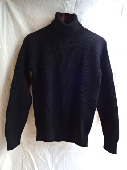 Vincent et Milleire Turtle Neck Sweater 8GG AZE Black