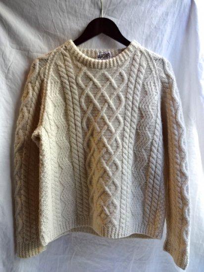 Vintage Aran Sweater /A