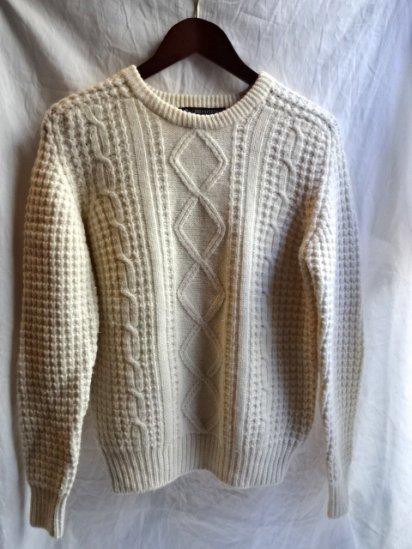 Vintage Aran Sweater /B
