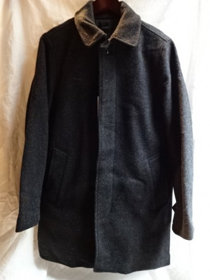 J.Crew Wool Car Coat Thinsulate Lined
