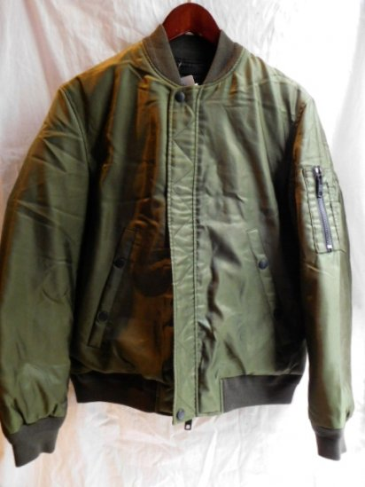 Coach MA-1 Style Down filled Jacket<br>Olive
