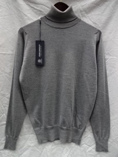 John Smedley Extra Fine Merino Wool A3686 ROLL NECK PULLOVER Made in England