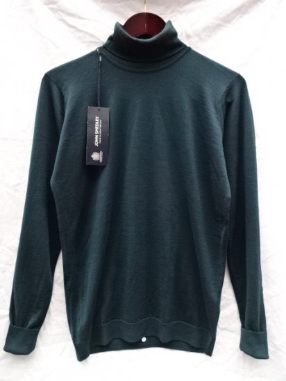 John Smedley Extra Fine Merino Wool CLIFTON PULLOVER Made in England