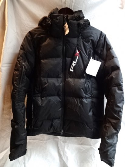 RLX Ralph Lauren Hoody Down Jacket Black