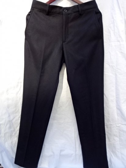 Ralph Lauren Wool Trousers Made in Italy Black