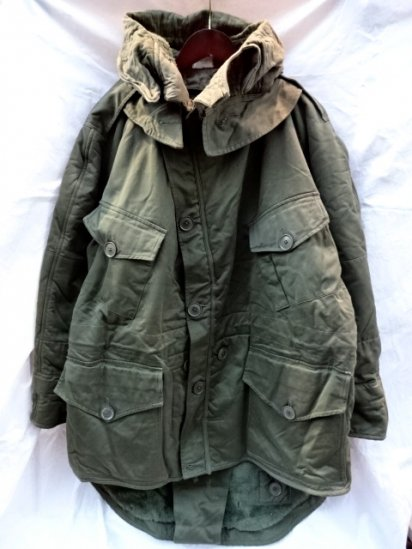 50's Vintage British Army Cold Weather Middle Parka Size6