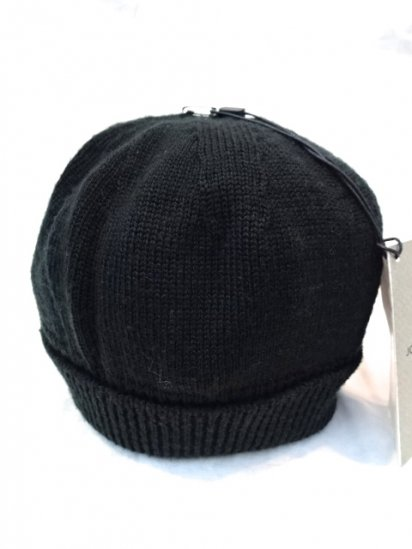 JOHN SMEDLEY Merino Wool Knit Cap MADE IN ENGLAND Dark Green