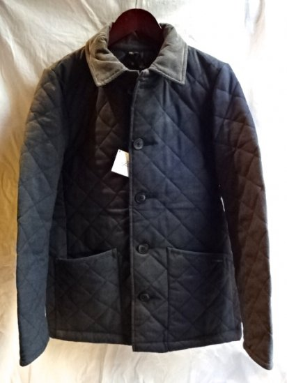 LAVENHAM Wool Quilted Jacket Made in England