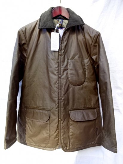 LAVENHAM Quilted Jacket Made in England Paraffin Brown
