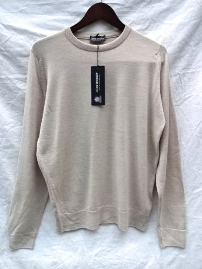 John Smedley Extra Fine Merino Wool Knit SUMMIT PULLOVER Made in England