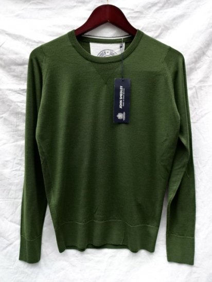 John Smedley x Todd Snyder Extra Fine Merino Wool Knit A3758 PULLOVER Made in England