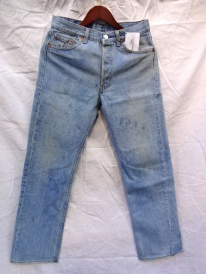 90's Levi's 501 Made in USA Cut off / 3