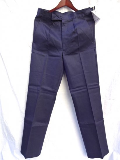 70 〜80's  Vintage Dead Stock Royal Navy Trousers Working Dress Blue/5