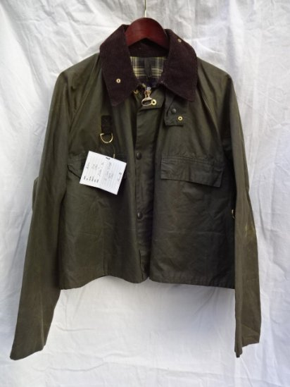 2 Crest Vintage Barbour SPEY JACKET Made in England /1