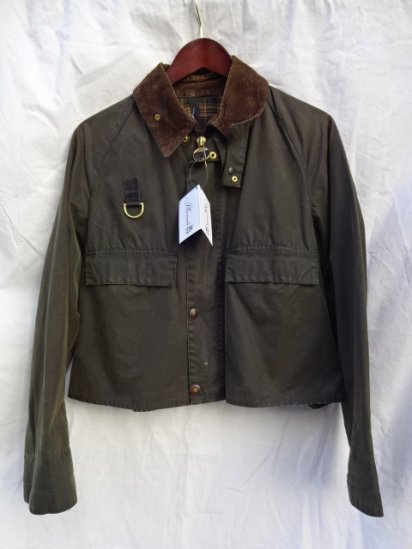 3 Crest Vintage Barbour SPEY JACKET Made in England /2