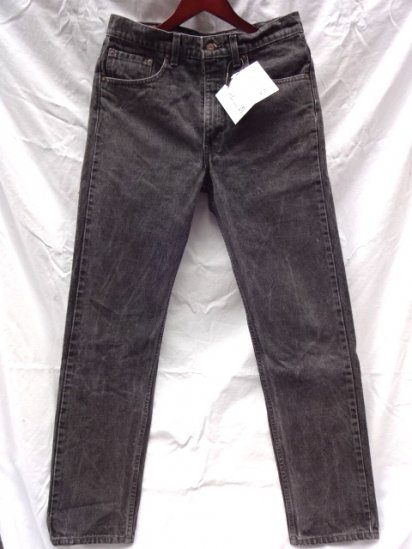 90's Old Levi's 505 Black Made in U.S.A /2
