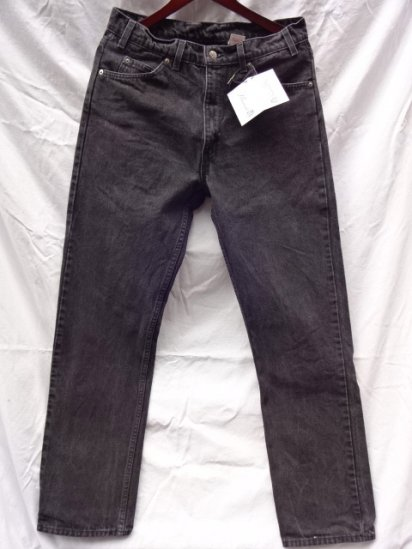 90's Old Levi's 505 Black Made in U.S.A /3
