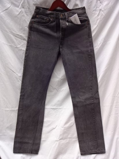 90's Old Levi's 501 Black Made in U.S.A /4