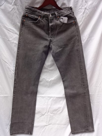 90's Old Levi's 501 Black Made in U.S.A /5