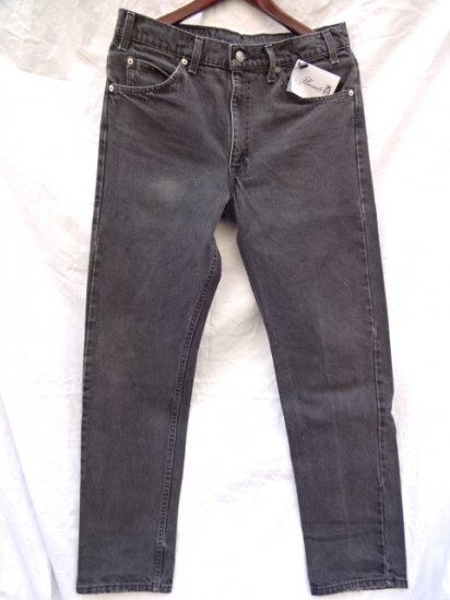 90's Old Levi's 505 Black Made in U.S.A /5
