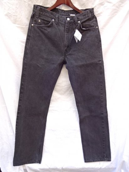 90's Old Levi's 505 Black Made in U.S.A /6