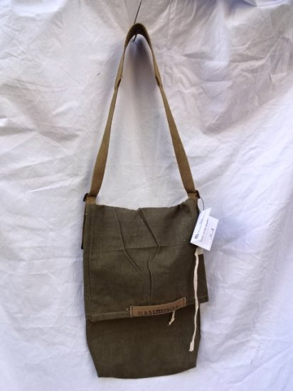 Remake Shoulder Bag  Made by 40-50's Vintage British Military Equipment/1
