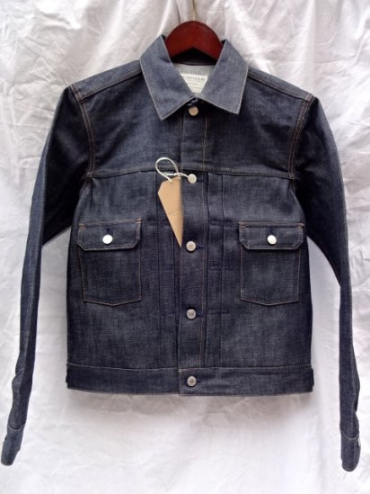 Richfield JJ-1 Denim Jacket Made in JAPAN Rigid