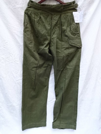 60-70's Vintage British Army 1950 Pattern Jungle Trousers /1