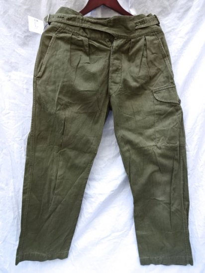 50's Vintage British Army 1950 Pattern Jungle Trousers /2