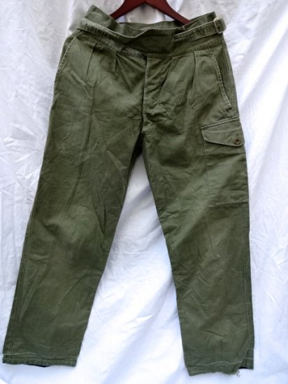 50's Vintage British Army 1950 Pattern Jungle Trousers /3