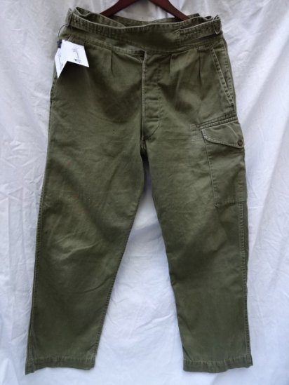50's Vintage British Army 1950 Pattern Jungle Trousers /4