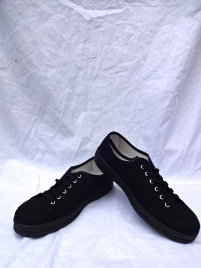 JAVERFLEX Canvas Shoes MADE IN FRANCE Black