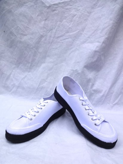JAVERFLEX Canvas Shoes MADE IN FRANCE White