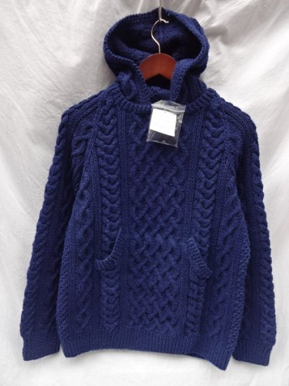 INVERALLAN Indigo Cotton Yarn Knit