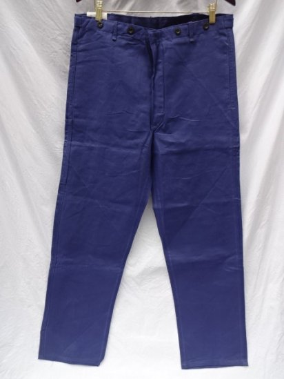 60's Vintage Dead Stock German Work Pants / 2