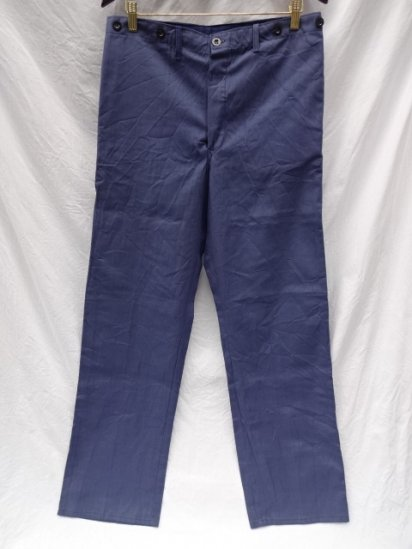 70's Vintage Dead Stock German Work Pants / 3