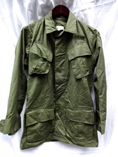 4th Jungle Fatigue Jacket Dead stock XS-REGULAR/4