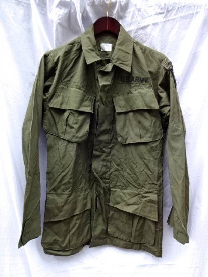 4th Jungle Fatigue Jacket Dead stock XS-REGULAR/5